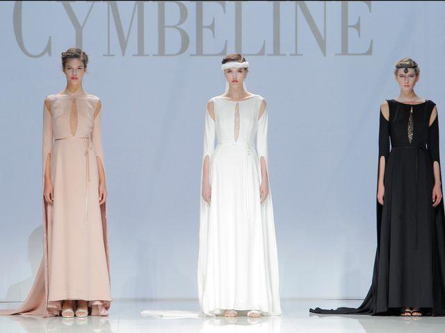 Cymbeline en représentation du savoir-faire français à la Barcelona Bridal Fashion Week