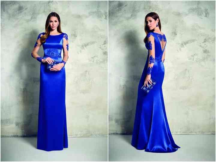 10 robes bleues pour des invitées au look