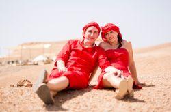 Charline et Bruno : l'incroyable mariage-voyage au cœur du désert