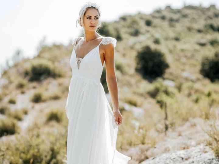 Robes de mariée empire : 30 modèles à la grecque pour le grand jour