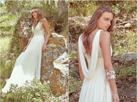 20 robes de mariée de style grec