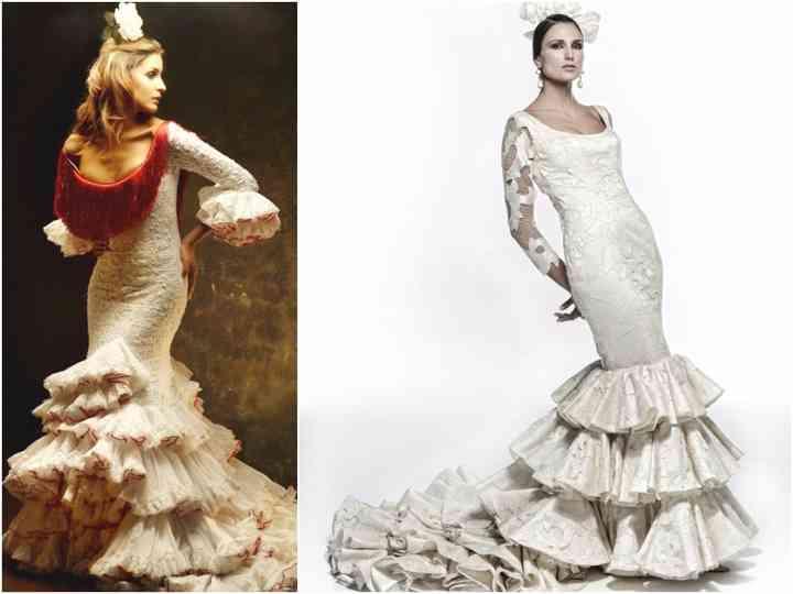 Look De Mariee A La Mode Flamenco