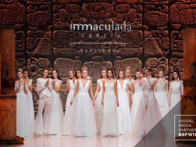 Inmaculada García : une collection de robes de mariée 2019 divine !