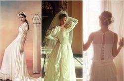 L��volution de la robe de mari�e � travers le temps