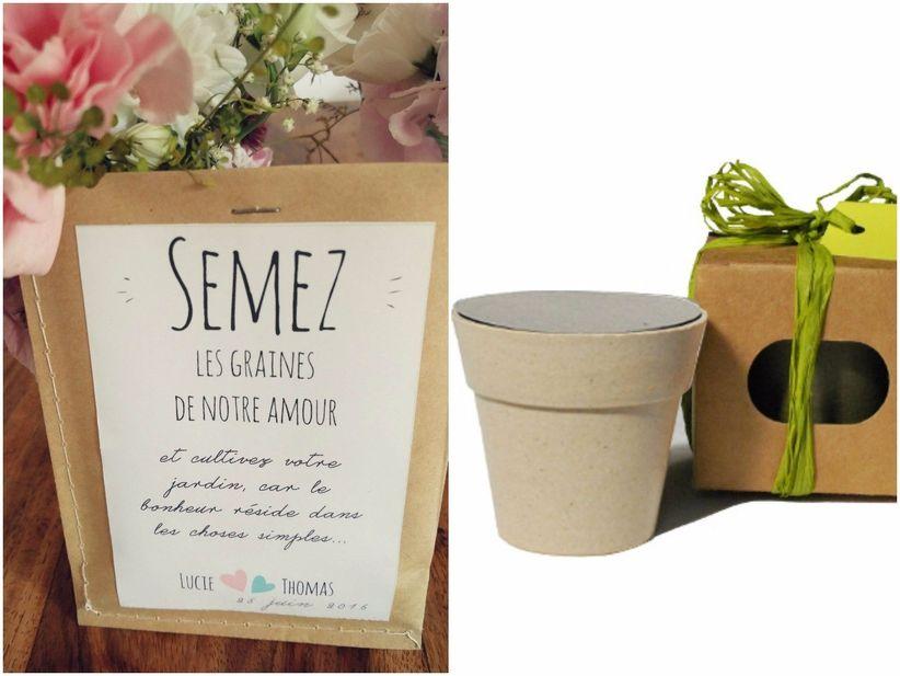 10 cadeaux tr s originaux pour les invit s de votre mariage. Black Bedroom Furniture Sets. Home Design Ideas