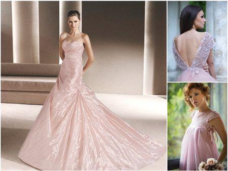 20 robes de mariée teintées de rose pour un look exquis