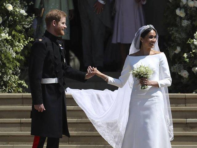 35 robes de mariée simples et élégantes comme celle de Meghan Markle