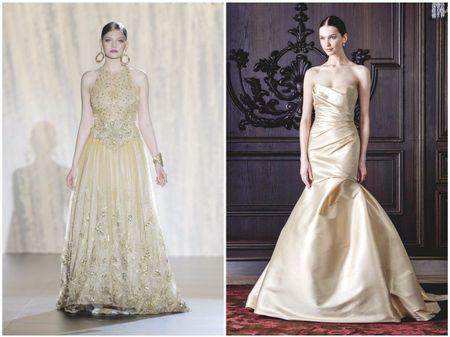 Effet doré sur votre robe de mariée ? Oui, je le veux !