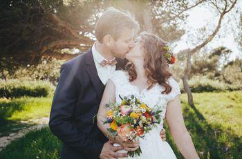 Célia et Nicolas : un mariage guinguette simple et chaleureux