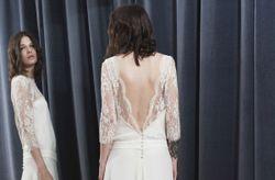 Stéphanie Wolff 2017 : la robe de mariée fluide et épurée