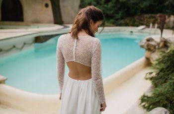 Collection Sophie Sarfati 2017 : mariées modernes et sensuelles à l'honneur