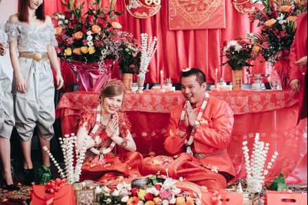 Le mariage bouddhiste de Laëtitia et Sophana : rituels, amour et bonne humeur !
