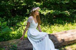 Robes de mariées 2017 d'Adeline Bauwin : romantiques et bucoliques