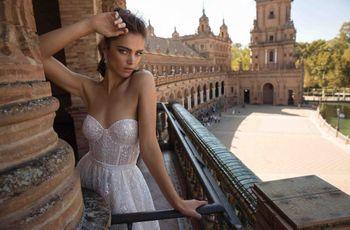 Les 55 plus belles robes de mariée avec décolleté bustier