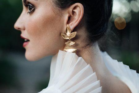 40 boucles d'oreilles pendantes pour la mariée