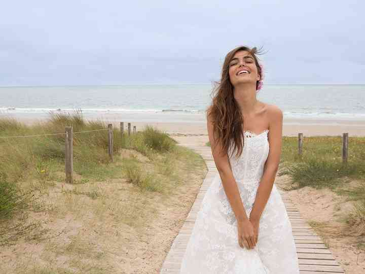 Les 55 plus belles robes de mariée avec décolleté bustier de 2017