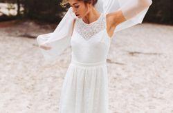 50 robes de mariée simples, idéales pour votre cérémonie civile