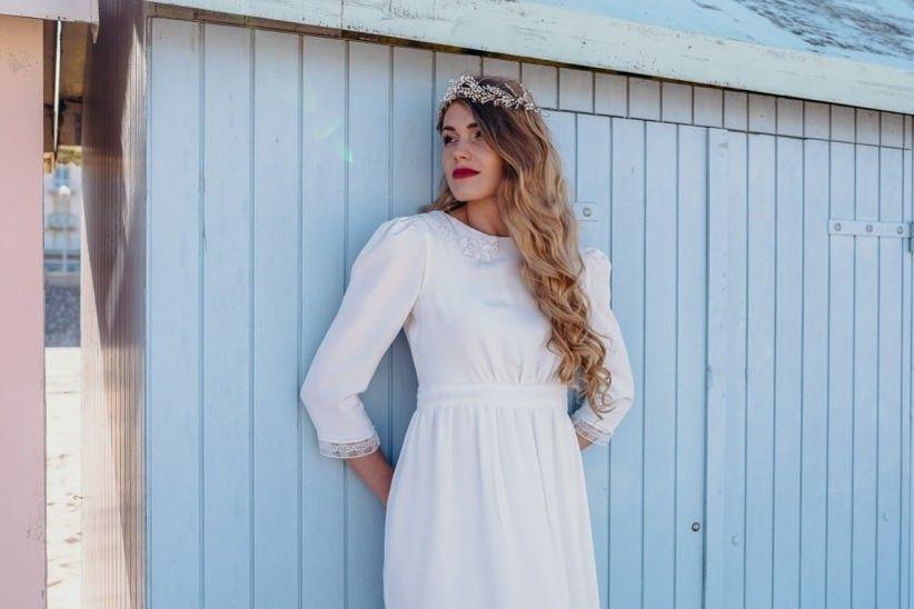 Robe de mariee colore pas cher