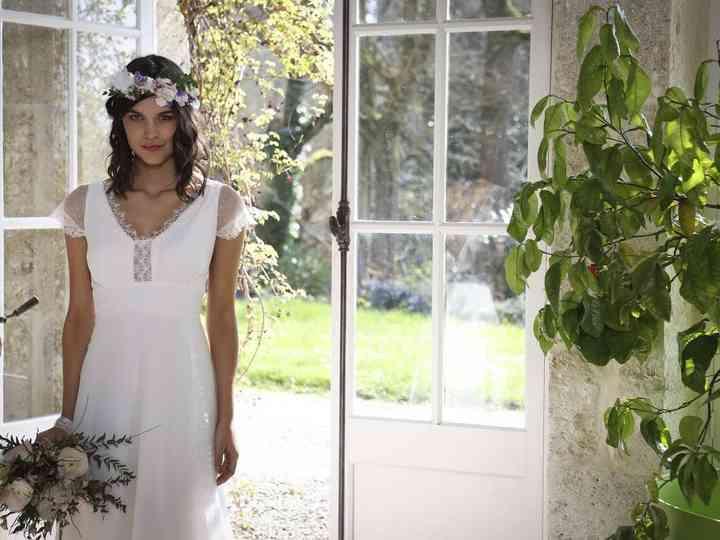 Robes coiffures de mariage de style grec
