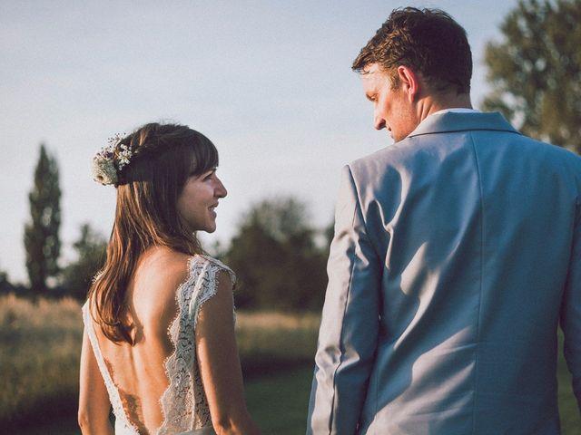Élégance et nature : l'association parfaite du mariage de Sandra et Germain