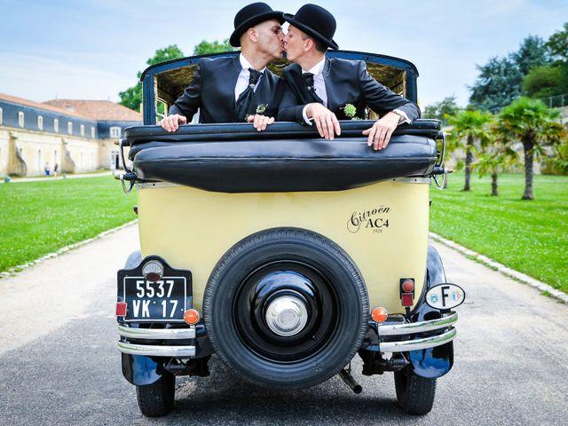 Intime et délicieusement vintage : le mariage de Stéphane et Salvatore
