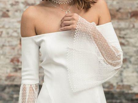 A la pointe de la mode : robes de mariée à manches trompettes !