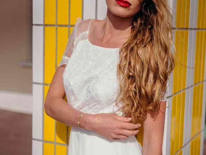 70 robes de mariée belles à ravir avec un décolleté rond