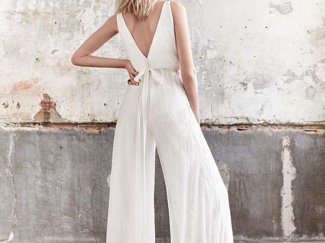 Les pantalons de mariée : les tendances à suivre en 2018