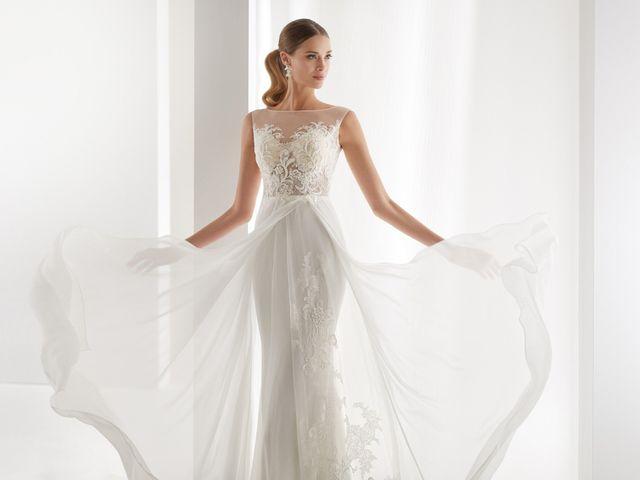 Collection Aurora : tenues romantiques pour mariées chics