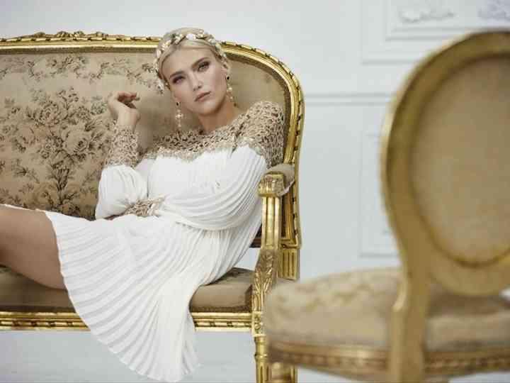 50 robes de soirée blanches pour mariage à thème