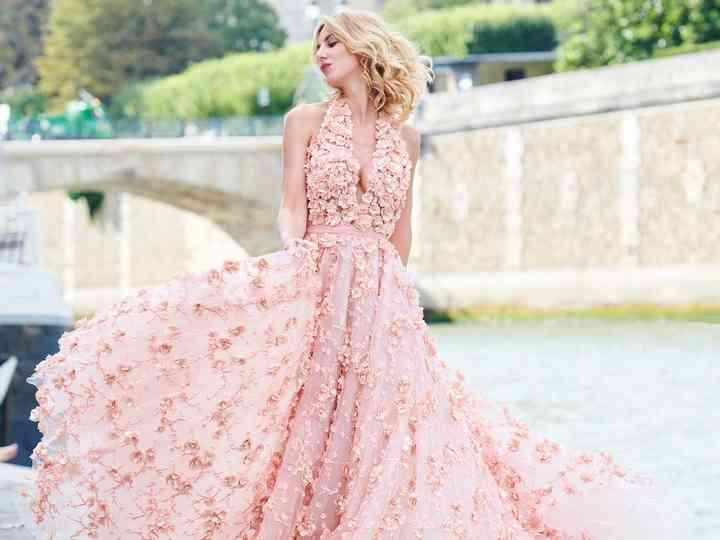 25 robes de mariée pour voir la vie en rose