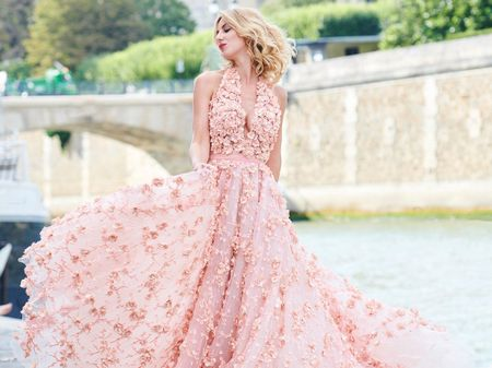 35 robes de mariée pour voir la vie en rose