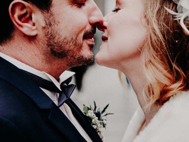 So chic ! Le doux mariage d'hiver de Géraldine et Paul