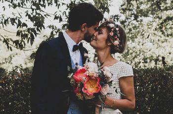 Le mariage de Domitille et Carlos : joie de vivre au-delà des frontières