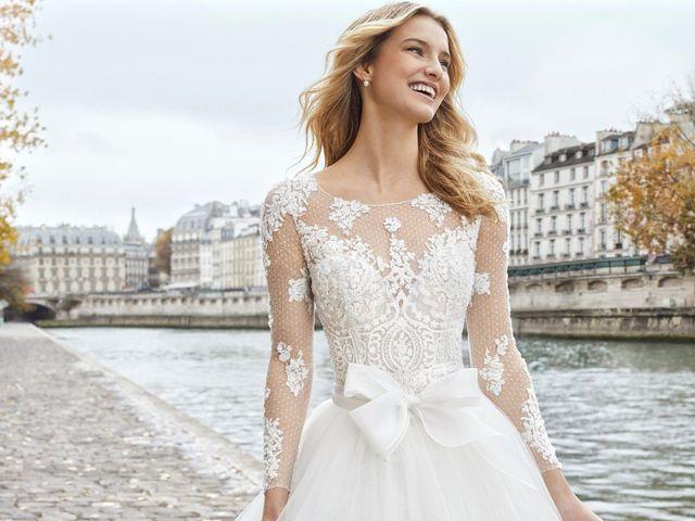 Aire Barcelona : la collection mariée 2019 pensée pour les princesses