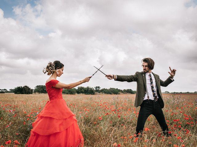 La magie d'Harry Potter s'invite au mariage de Lhéo et Sarah !
