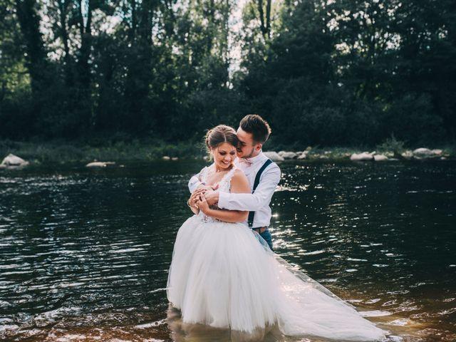 Maeva et Lucas : un mariage pastel et champêtre qui donne le sourire