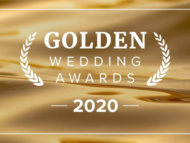 Golden Wedding Awards : les prestataires en or de l'année 2020