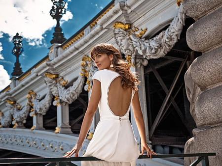 Décolleté keyhole : 35 robes de mariée avec un dos ravissant