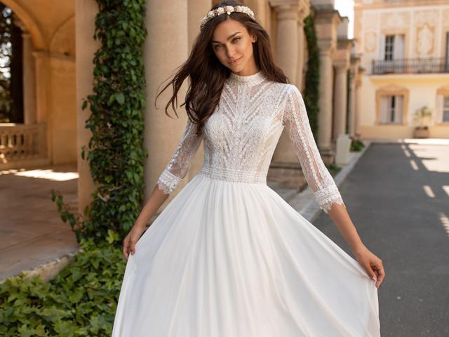 80 robes plissées : l'atout charme de la mariée