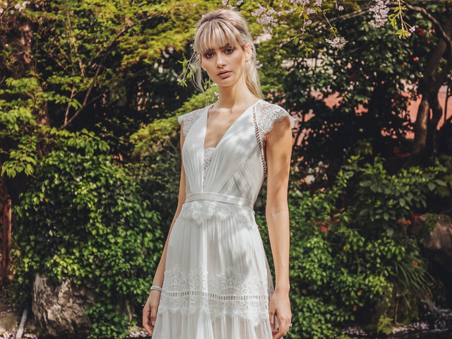 Catherine Deane - robes de mariée 2019 : le style boho-chic à l'honneur