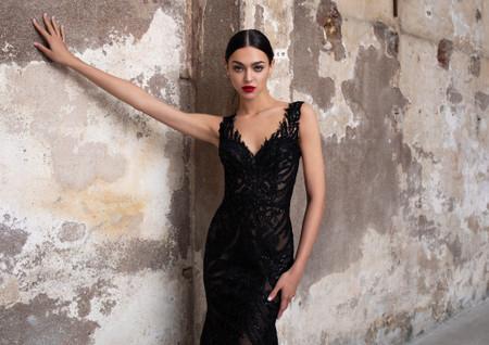 Modèles de robe de mariée noirs : la promesse d'un look intense