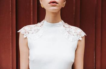 Mademoiselle de Guise collection 2020 : graphisme et glamour pour la mariée
