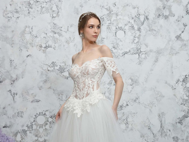 Les 5 essentiels de la collection de robes de mariée Gemy Maalouf 2022