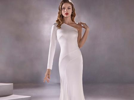 Oscars 2020 : 20 robes blanches à une manche comme Salma Hayek et Renée Zellweger