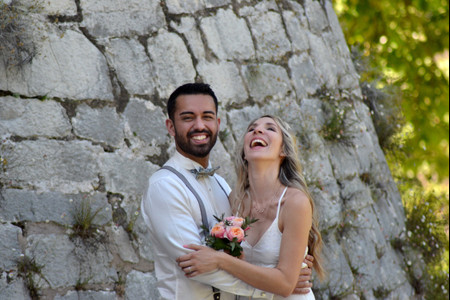 Premiers mariages post-confinement : la cérémonie en visio de Lison et James