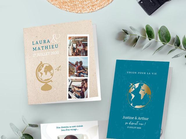 Planet Cards : 5 thèmes pour votre papeterie de mariage en 2020