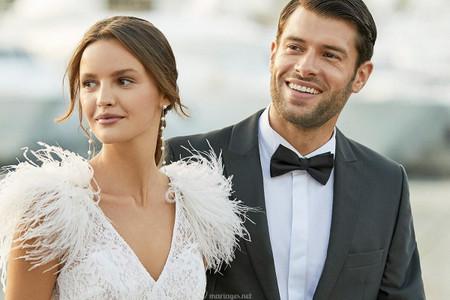 Avant-première Aire Barcelona 2021 : les robes de mariée tendances de la saison