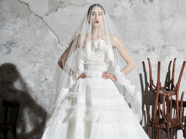 Robes de mariée Zuhair Murad 2020 : à chaque tissu, son effet !