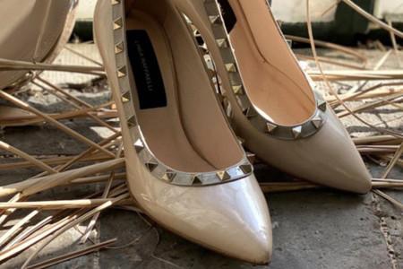 Chaussures de mariée à clous : l'allure rock à vos pieds !